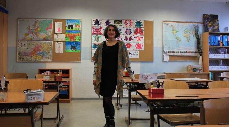 Fabiana Ellmerer in der Klasse