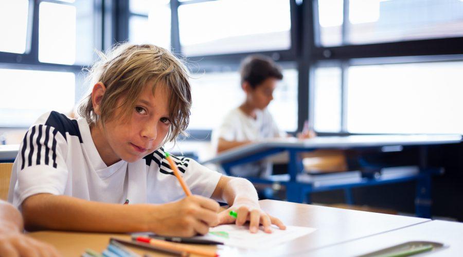 Symbolfoto eines Schülers