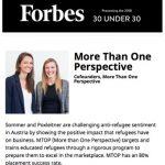 Screenshot von Forbes 30 under 30
