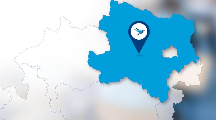 Landkarte Schulen in Niederösterreich