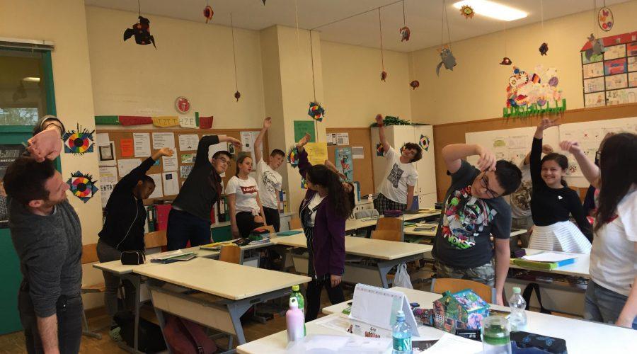 FitBrit im Klassenzimmer