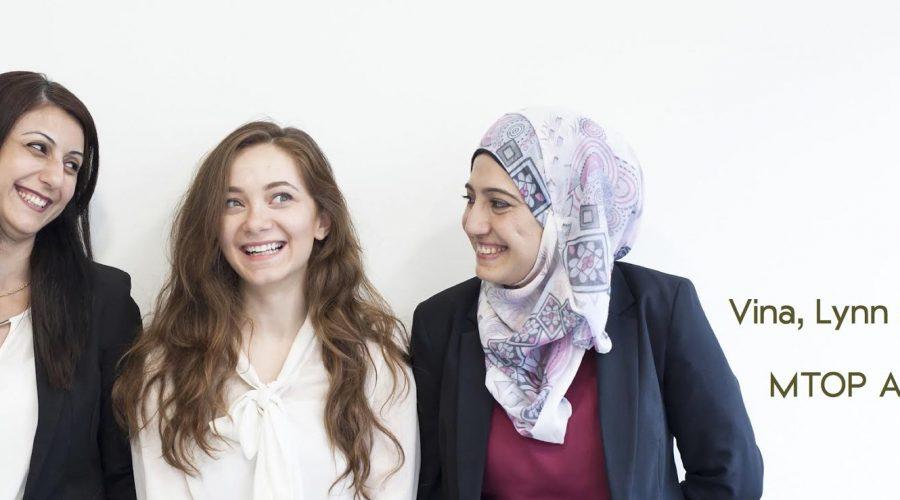 Teilnehmerinnen aus Syrien am MTOP Programm