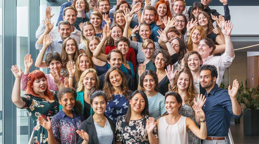 Gruppenfoto Fellowjahrgang 2017