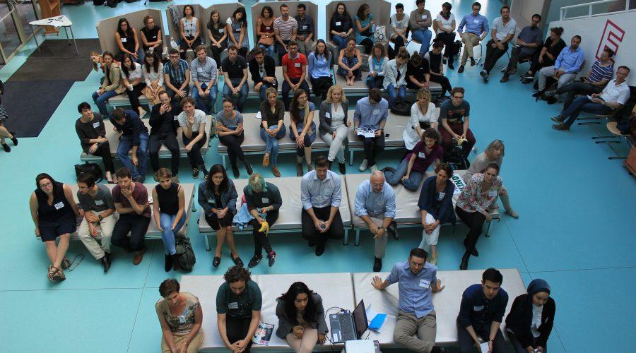 Publikum beim Collective Action Day von Teach For Austria