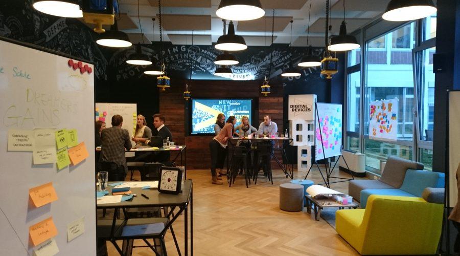 Design Thinking Workshop im Accenture Future Camp