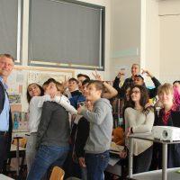 Selfie Time nach Steuerstunde mit Peter Bartos, Partner BDO Austria